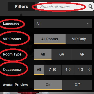 Imvu View Avatar S Recently Visited Chat Rooms