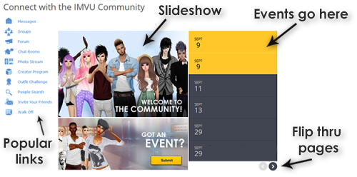 IMVU - View topic - Showcase your parties and contests for