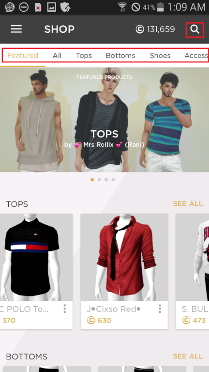 078145f253a4 How to Shop (and Gift) in IMVU Mobile