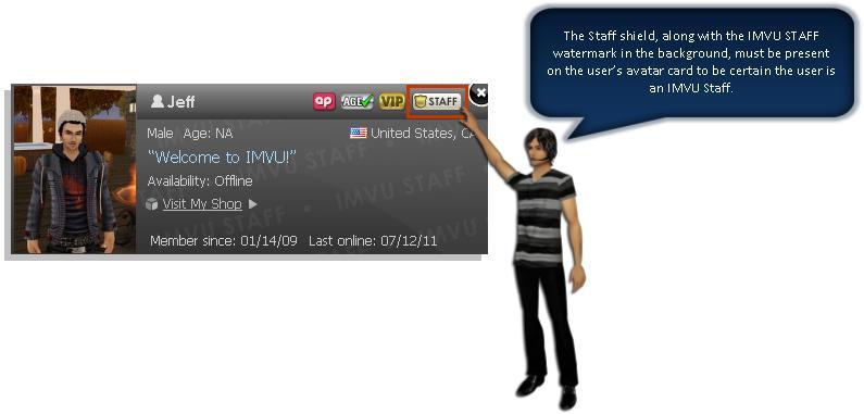 How to Determine an IMVU Staff Member